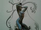 Naissance de Venus - Collage sur papier 20131