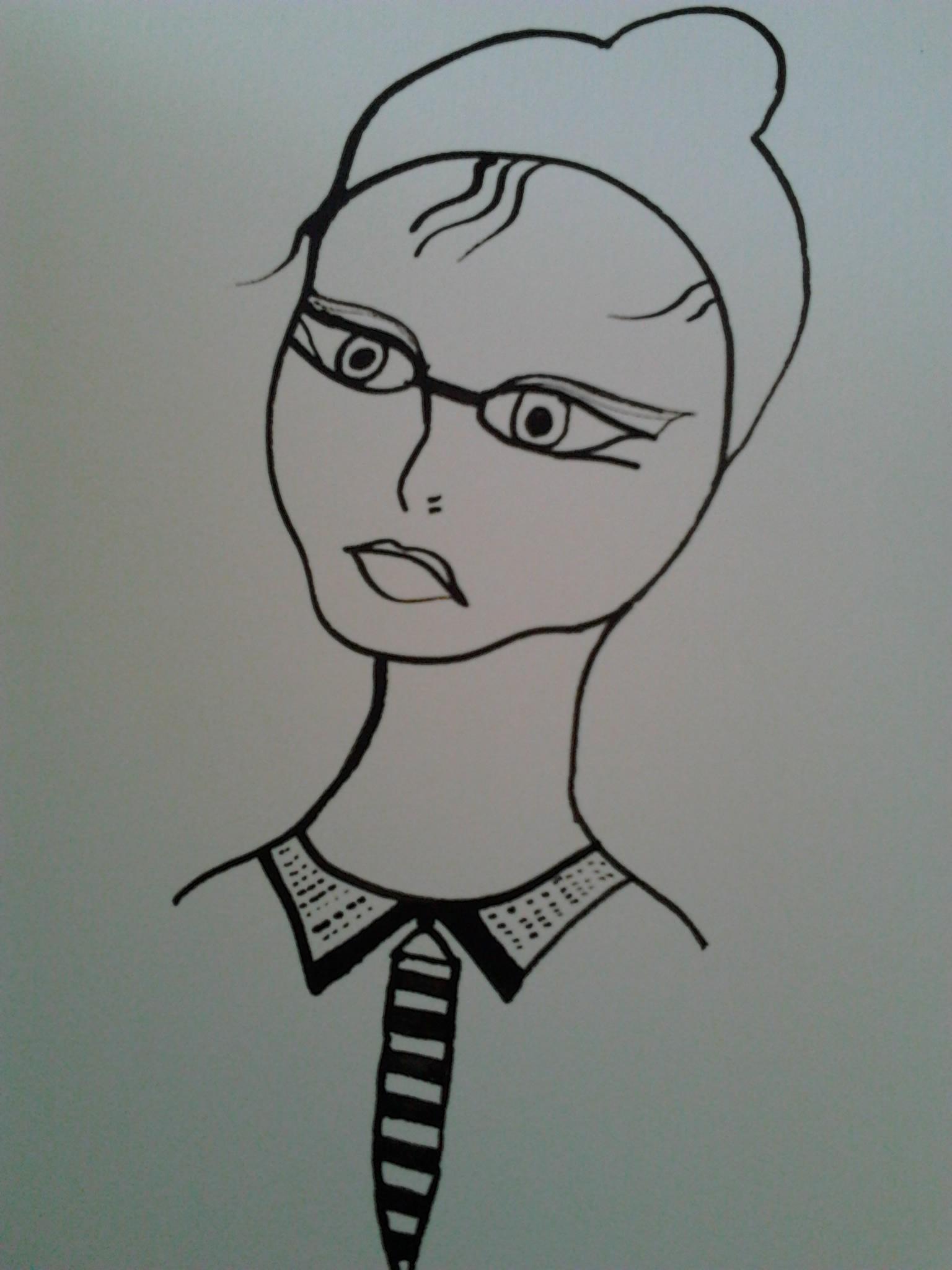 21/ 33 Femmes - Encre de chine 2013