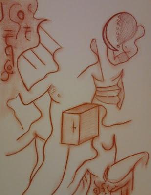 Créatures de la Nuit - Sanguine sur papier 2002