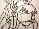 La Vie Sexuelle des Robots - Fusain 2012