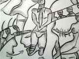 Séductions - Fusain sur papier 2013
