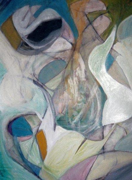 Le Grand Mystère - Acrylique sur papier