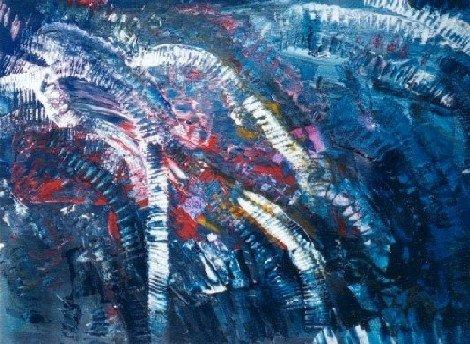 Carnage - Acrylique sur papier 2002