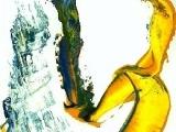 Le Desir - Acrylique sur papier 2001