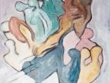 Liquéfaction des Etres dans l Affection - Technique mixte sur carton entoilé 2001
