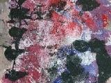 Mephisto Hurlant - Acrylique sur carton 2001